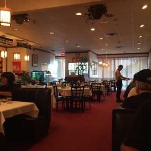 Asian Taste Inn Dining room