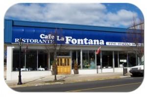 cafe la fontana facade