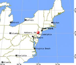 hatboro map