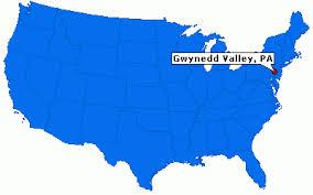 gwynedd map
